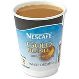 Nescafe & Go Gold Blend Decaffeinated White Coffee - Sleeve of 8 Cups