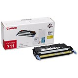 Image of Canon 711 Yellow Laser Toner Cartridge