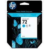Image of HP 72 Cyan Ink Cartridge