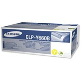 Image of Samsung CLP-Y660B High Yield Yellow Laser Toner Cartridge