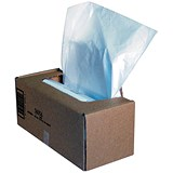 Image of Fellowes Shredder Bags Capacity 94 Litre [for C-320 C-420 Series] Ref 36056 [Pack 50]