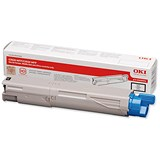 Image of Oki 43459324 Black Laser Toner Cartridge