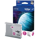 Image of Brother LC970M Magenta Inkjet Cartridge
