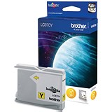Image of Brother LC970Y Yellow Inkjet Cartridge