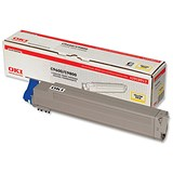 Image of Oki 42918913 Yellow Laser Toner Cartridge