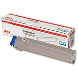 Image of Oki 42918915 Cyan Laser Toner Cartridge
