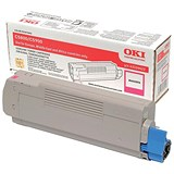 Image of Oki 43324422 Magenta Laser Toner Cartridge