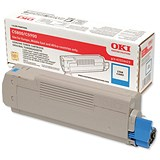 Image of Oki 43324423 Cyan Laser Toner Cartridge