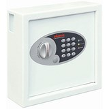 Image of Phoenix 0031 Key Safe Electronic with Fixings Keyrings and Tags 30 Keys 5kg W300xD100xH280mm Ref KS0031E