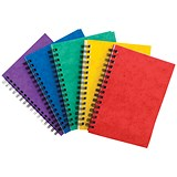Image of Sidebound Notebook / A6 / Ruled / 120 Pages / Colour Assortment A / Pack of 10
