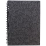 Sidebound Notebook / A5 / Ruled / 120 Pages / Black / Pack of 10