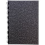 Sidebound Notebook / A4 / Ruled / 120 Pages / Black / Pack of 10