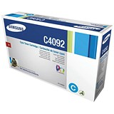 Image of Samsung CLT-C4092S Cyan Laser Toner Cartridge