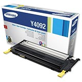 Samsung CLT-Y4092S Yellow Laser Toner Cartridge