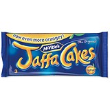 Image of McVities Jaffa Cakes / 3 Cakes per Minipack / Pack of 24