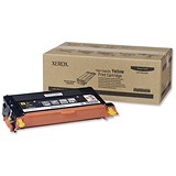 Image of Xerox Phaser 6180 High Yield Yellow Laser Toner Cartridge