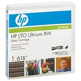Image of Hewlett Packard (HP) LTO4 Ultrium Data Tape Cartridge RW / 240 MB/sec / 1.6TB