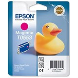 Image of Epson T0553 Magenta Inkjet Cartridge