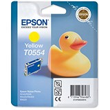 Image of Epson T0554 Yellow Inkjet Cartridge