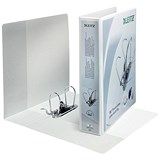 Image of Leitz A4 Presentation Lever Arch Files / 180 Degree Opening / 80mm Spine / White / Pack of 10