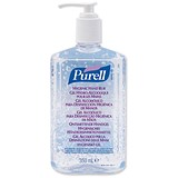 Image of Purell Hygienic Hand Gel Sanitiser / Pump Dispenser / 350ml
