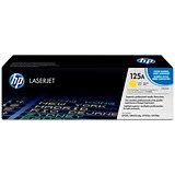 Image of HP 125A Yellow Laser Toner Cartridge