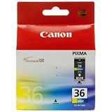 Image of Canon CLI-36 Colour Inkjet Cartridge