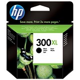 Image of HP 300XL Black Ink Cartridge