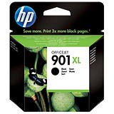 Image of HP 901XL Black Ink Cartridge