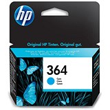 Image of HP 364 Cyan Ink Cartridge