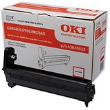 Image of Oki 43870022 Magenta Laser Drum Unit