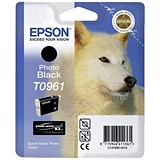 Image of Epson T0961 Photo Black UltraChrome K3 Inkjet Cartridge