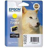 Image of Epson T0964 Yellow UltraChrome K3 Inkjet Cartridge