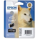 Epson T0967 Light Black UltraChrome K3 Inkjet Cartridge
