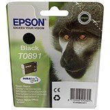 Epson T0891 Black DURABrite Inkjet Cartridge