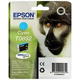 Image of Epson T0892 Cyan DURABrite Inkjet Cartridge