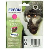 Image of Epson T0893 Magenta DURABrite Inkjet Cartridge