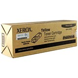 Image of Xerox Phaser 6125 Yellow Laser Toner Cartridge