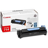 Image of Canon 714 Black Laser Toner Cartridge