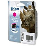 Image of Epson T1003 Magenta DURABrite Ultra Inkjet Cartridge