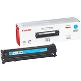Image of Canon 716 Cyan Laser Toner Cartridge