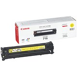 Image of Canon 716 Yellow Laser Toner Cartridge