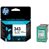 Image of HP 343 Colour Ink Cartridge