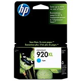 Image of HP 920XL Cyan Ink Cartridge