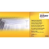 Avery Tagging Gun Attachments / Polypropylene with Paddles / 20mm / AS020 / Pack of 5000