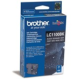 Image of Brother LC1100BK Black Inkjet Cartridge