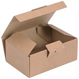 Image of Easi Mailer Kraft Mailing Box / 160x110x64mm / Brown / Pack of 20