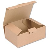 Image of Easi Mailer Kraft Mailing Box / 190x131x76mm / Brown / Pack of 20