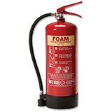 Image of IVG Firechief Fire Extinguisher Foam for Class A and B 6 Litres Ref IVGS6.0LTF