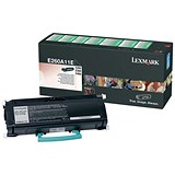 Image of Lexmark E260A11E Black Laser Toner Cartridge
